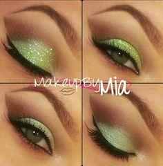 St Patricks Day make-up