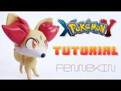 Pokémon Fennekin polymer clay tutorial