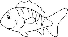 black and white little fish clip art image black and white outline rh pinterest com fish clip art black and white free fish tank clip art black and white