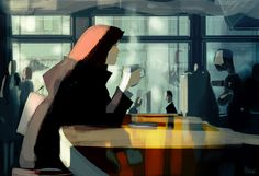 Inside out. Friday morning, overcast, slow going.. .... black.. no sugar. #pascalcampion