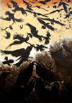 """It's a Raucous Raven Party!!! """"Rebel of Ravens"""" by Julia Manning"""