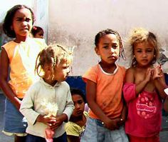 Africa: Fogo children, Cape Verde