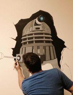 Working on a mural. EXTERMINATE!! https://i.redd.it/lewjd28nmsr01.jpg