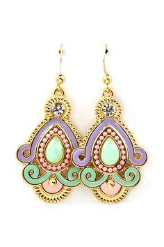 Athena Teardrop Earrings.
