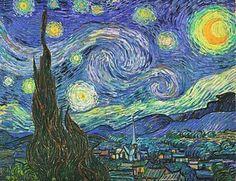 Vincent van Gogh, Sternennacht.