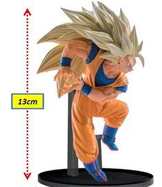 Figura Goku, 13 cm Super Big Budoukai 6 Vol. 6. Dragon Ball Z. Banpresto  Figura de 13 cm basada en la serie de tv Dragon Ball Z, con el guerrero Goku.