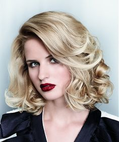 A long blonde straight wavy coloured glamourous Womens haircut hairstyle by Great Lengths....like style