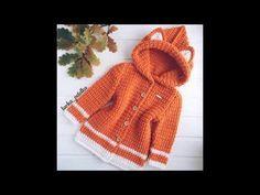 Abrigo de niña a crochet muy fácil y rápido - YouTube