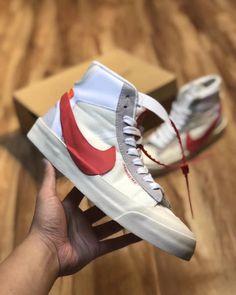 promo code 3f8ab 8692f Custom Off-White X Nike BLAZER STUDIO MID Supreme Off White, Supreme, Blazer