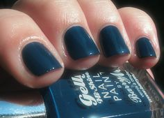 Not Without My Polish: Barry M - Blue Plum