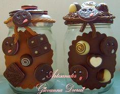 como fazer biscuit em vidro - Pesquisa Google