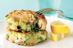 Smoked fish and kumara hash cakes recipe, NZ Woman's Weekly – visit Food Hub for New Zealand recipes using local ingredients – foodhub.co.nz
