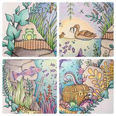 Book: Enchanted Forest by Johanna Basford. Medium: Polychromos pencils by Faber Castell