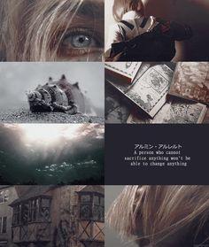 ❥ vogel im käfig | snk aesthetic Armin