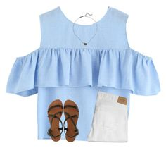 new taglist in d by ponyboysgirlfriend on Polyvore featuring Abercrombie & Fitch, Joie A La Plage and Kendra Scott