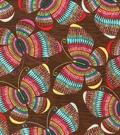 Novelty Cotton Fabric- ButterfliesNovelty Cotton Fabric- Butterflies,