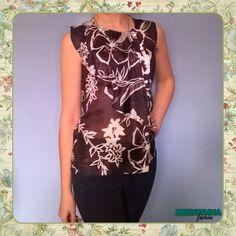 Bezdushna Fashion: Модные записки от аматора: DIY: Простая и красивая блуза из шелка