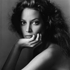 Christy Turlington by Irving Penn
