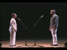 """Meredith Monk (pioneer of what is now called """"extended vocal technique"""") and Theo Bleckmann perform """"Hocket"""" from """"Facing North"""" live at the Lensic Center for the Performing Arts, Santa Fe, NM 2004."""