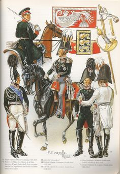 SOLDIERS- Courcelle: Imperial Staff, by Patrice Courcelle.