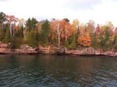 Hermit Island, near Red Cliff Wisconsin
