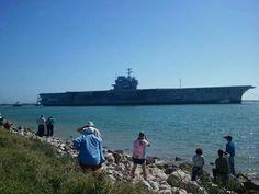 USS Forrestal,  Feb17,2014