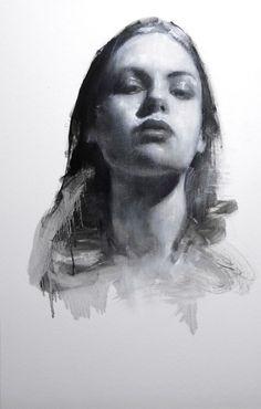 Georgina head study, 22ins x 14ins, £3800 | Mark Demsteader | mark demsteader