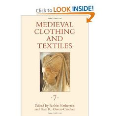 Medieval Clothing and Textiles 7: Robin Netherton, Gale R. Owen-Crocker: 9781843836254: Amazon.com: Books