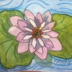 "The wayer lilly ""God's Beautiful World"" www.etsy.com/shop/MindyRDesigns"