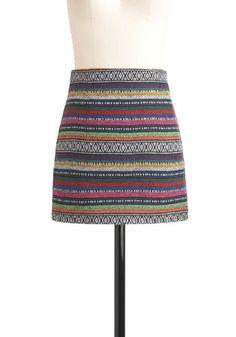 Festival of Style Skirt, #ModCloth