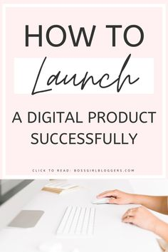How to create and sell a digital product successfully. The best guide to launching your digital products. Make Money Blogging, Make Money Online, How To Make Money, Etsy Business, Business Tips, Online Business, Content Marketing, Digital Marketing, Mobile Marketing