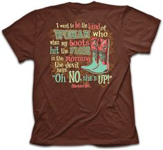 Small - 4X JTBliss Graphic Womans Oh No She's Up T-Shirt - JTbliss