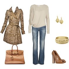 High Fashion Casual . . . Perfect for a Fall Weekend Adventure