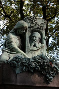 What a man he must have been, that they mourned him so?  @ Pere laChaise cimetiere, Paris