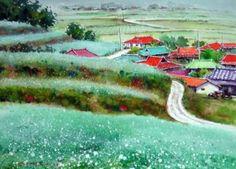 장흥 선학동 watercolor by insung Jung