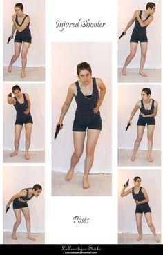 STOCK - Injured Shooter by LaLunatique.deviantart.com on @deviantART