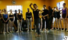 Misty Copeland teaching a master ballet class at our studios! Celebrating 5 years of dance. April 2014