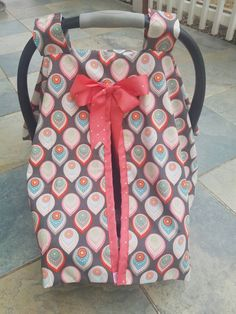 Car Seat Cover Baby Seat Cover Stroller by AtoZCreationsStore