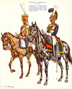 The Westphalian Army was constructed almost exactly on the French model, relying, like its French counterpart, on conscription. The army was composed of both line and guard units. The Royal Guard closely resembled Napoleon's Imperial Guard, although it was smaller in number, and it was meant to provide a solid core of loyal troops.