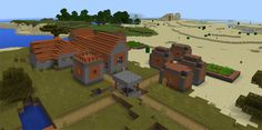 Enjoy this amazing seed with three different villages and one temple. Situated closely to the spawn, it is very easy for you to pick up a huge source of loots from the chests of a blacksmith. These items play an essential role in helping you survive in your adventure. It takes you a few minutes... http://mcpebox.com/three-villages-one-temple-spawn-seed-minecraft-pe/