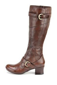 Born Aggie Tall Buckle Boot