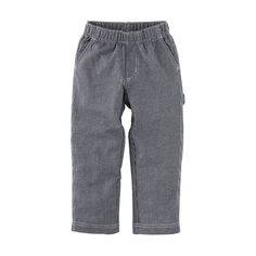 Railroad Stripe Carpenter Pant - Indigo by Tea Collection – Pacifier.me.com~ So soft and comfortable but still incredibly cute and smart looking! And they go with EVERYTHING!