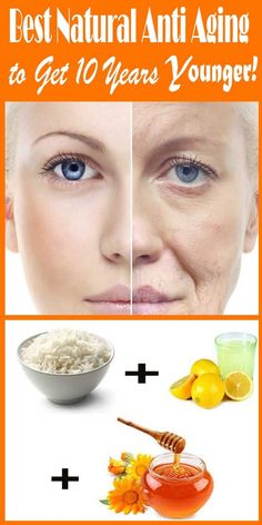 What Best Anti Aging Natural Skincare to Get 10 Years Younger? What best anti aging natural to get 10 years younger? Anti-aging natural secret remedy to remove wrinkles fine lines better than costly anti-aging cream. Anti Aging Tips, Best Anti Aging, Anti Aging Skin Care, Natural Skin Care, Natural Beauty, Creme Anti Age, Anti Aging Cream, Diy Skin Care, Skin Care Tips
