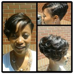 Megan Good inspired hair style