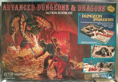 GROGNARDIA: Retrospective: AD&D Action Scene Kits
