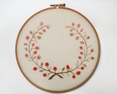branches #Embroidery