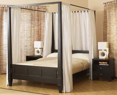 Considering a canopy bed