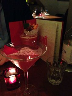 "Kicking off dinner at The House of Ho with some ""#kickasscocktails"" One 'Rum Rum Dragon' and a 'Rose Cheek Martini'...  #cocktails #soho #london #oldcompton #thehouseofho  www.houseofho.co.uk"