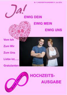 Noch mehr Hochzeitszeitung Covers, die ihr kostenlos als Vorlage benutzen könnt findet ihr in unserem Editor www.jilster.de