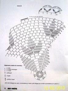 Kira scheme crochet: Scheme crochet no. Crochet Doily Diagram, Crochet Chart, Filet Crochet, Crochet Motif, Crochet Stitches, Crochet Round, Doily Patterns, Crochet Patterns, Crochet Dreamcatcher
